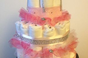 Baby Shower: thème: Strass