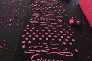 Anniversaire: thème Glamour