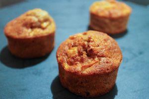 Cakes moelleux à la pomme et à la cannelle