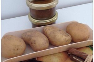 Confiture de pommes de terre
