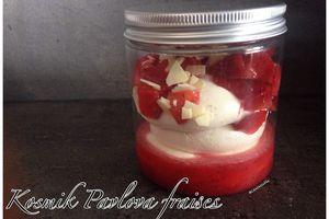 Kosmik pavlova fraises