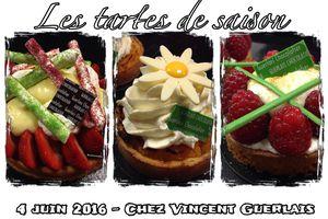 Stage tartes de saison - Ma rencontre avec Vincent Guerlais