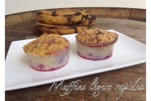 Muffins légers rapides