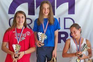 Margot Lasnet, 12 ans une nageuse en or