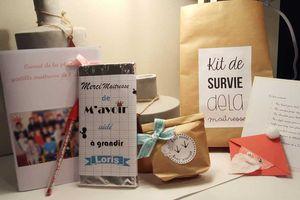 Idée Cadeau N°5: Un kit de survie pour la maîtresse