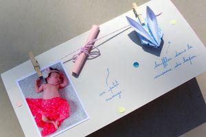DIY Faire-part de naissance
