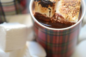 Un bon et indulgent chocolat chaud