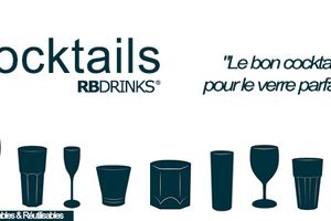 Les Cocktails RBDRINKS®