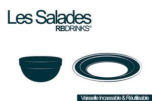 #2 Salade de Mâche aux Nectarines et Chèvre Sec - Les Salades RBDRINKS®