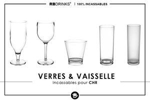 CHR : Découvrez nos verres & vaisselle incassables !