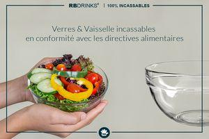 RBDRINKS® - des produits respectant toutes les propriétés alimentaires