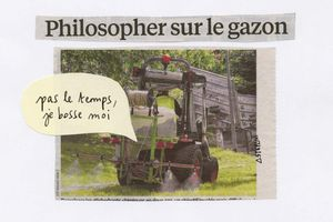Philosopher sur le gazon