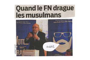 Quand le FN drague les musulmans