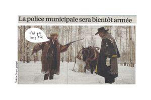 La police municipale sera bientôt armée
