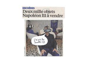 Deux mille objets Napoléon III à vendre