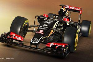 F1 : Lotus dévoile sa E23 Hybrid pour la saison 2015
