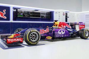 F1 2015: la RedBull RB11 juste à l'heure