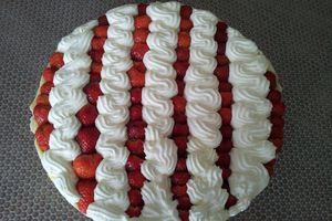 tarte aux fraises gourmande