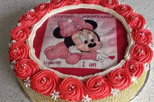 Gateau minnie