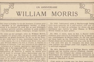 "Luce Borromée ""William Morris"" (1921)"