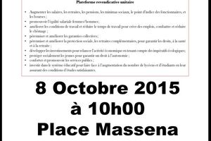 Manifestation du 08/10/2015