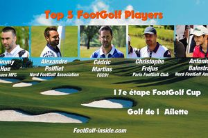 Top 5 FootGolf Players - L'Ailette