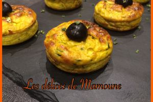 Flan courgettes/curry