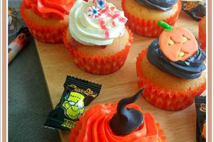 Cup cakes Halloween