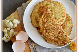 Pancakes de chou fleur
