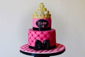 Gâteau Girly princesse