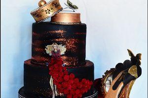 Gâteau d'anniversaire Haute couture