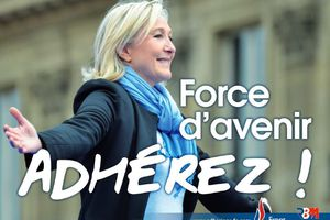 « Force d'avenir, adhérez ! » Découvrez la nouvelle affiche du Front National