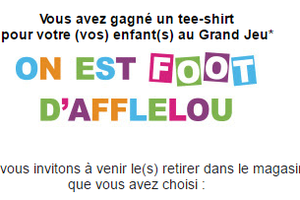 Participez au Grand Casting Enfant « On est foot d'AFFLELOU » !