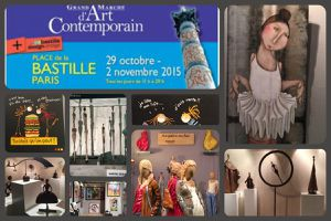 Grand marché d'art contemporain 2015