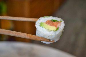 Sushi Spring Rolls Saumon, Avocat