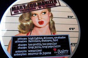 "Mary-Lou Manizer AKA ""the Luminizer"" -The Balm-"