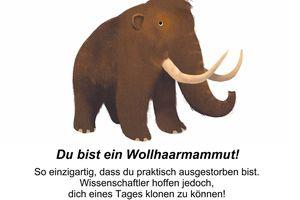 Ich bin ein Mammut