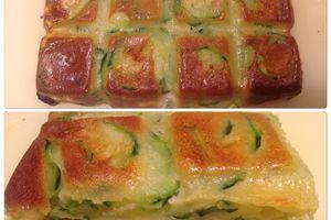 Gâteau aux courgettes