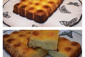 Gâteau oranges et amandes (sans lactose et gluten)