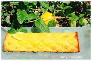 Cake citron et menthe fraiche