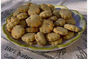 Biscuits apéritif aux graines