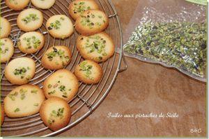 Tuiles aux pistaches de Sicile