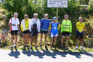 Mont du Chat(73) - Randonneurs  -  30 juillet 2015