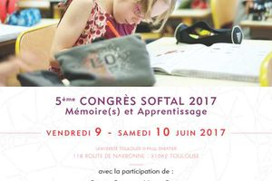 Appel à communications - Congrés SOFTAL 2017 - Mémoire(s) et apprentissage