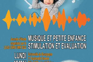 Journée d'étude - Musique et petite enfance : stimulation et évaluation - 15 mai 2017