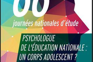 Journées d'études ACOP-F - Psychologue de l'Education nationale : un corps adolescent ? 19-22 sept 2017