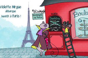 Le Coin Lecture : Les aventures de Violette Mirgue, le ballet des couleurs à Paris (+ Concours)