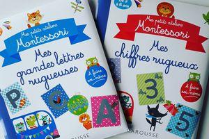 Mes petits ateliers Montessori pour apprendre les chiffres et les lettres !