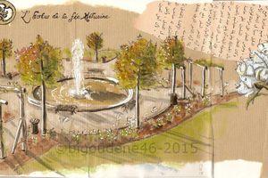 Jardins secrets...§ 18 L'hortus de la fée Mélusine