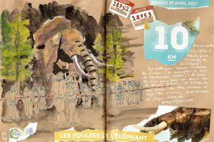 Nantes... les foulées de l'éléphant